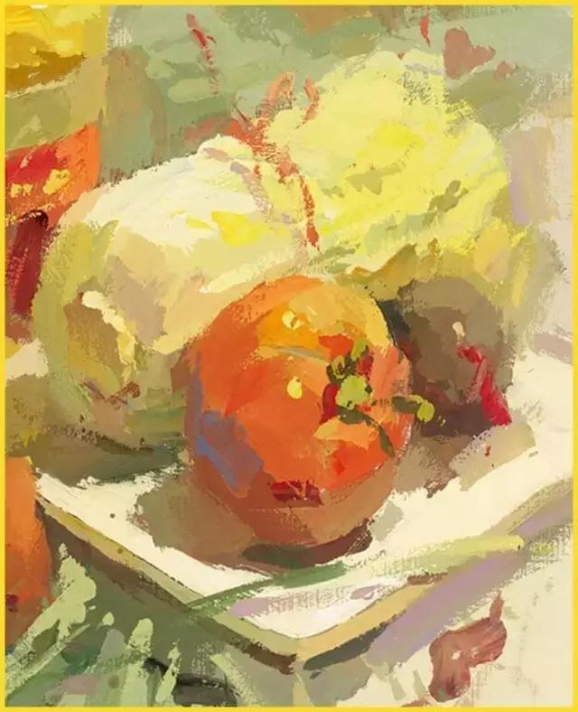 美术高考-调色技巧大盘点,常见的色彩静物单体