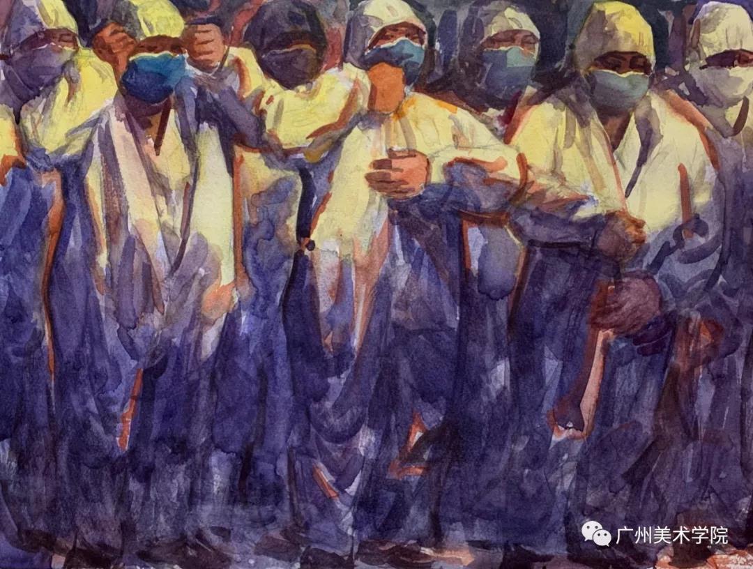 """以艺战""""疫"""" 广州美术学院疫情防控主题作品"""